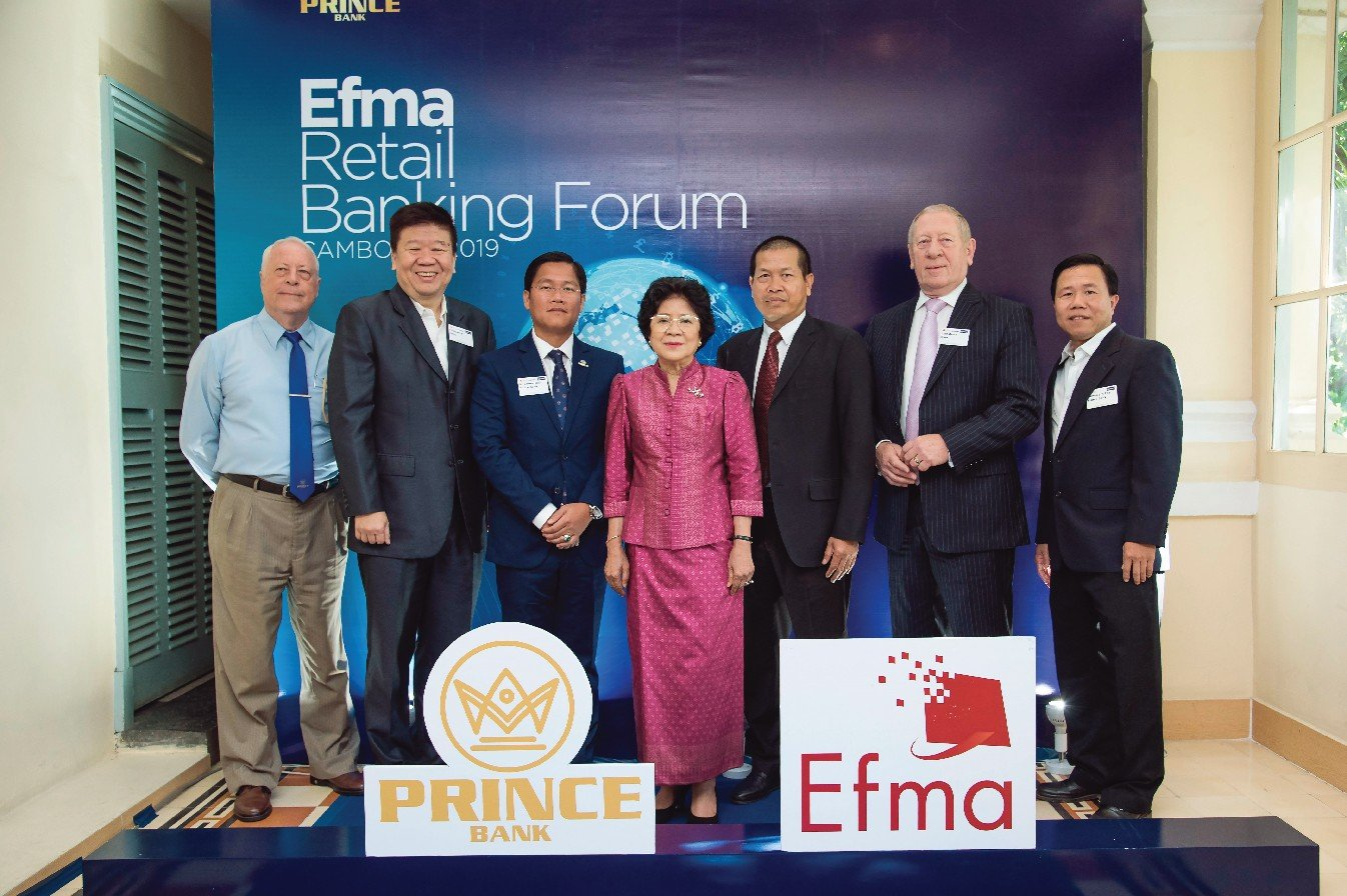 PRINCE BANK CO-HOSTS CAMBODIA'S FIRST DIGITAL BANKING FORUM WITH EUROPE'S EFMA